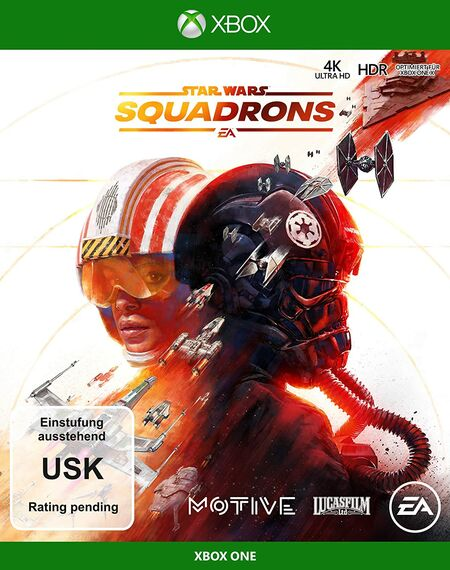 STAR WARS SQUADRONS (Xbox One) - Der Packshot