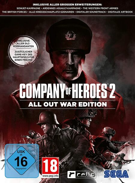Company of Heroes 2: All Out War Edition (PC) - Der Packshot