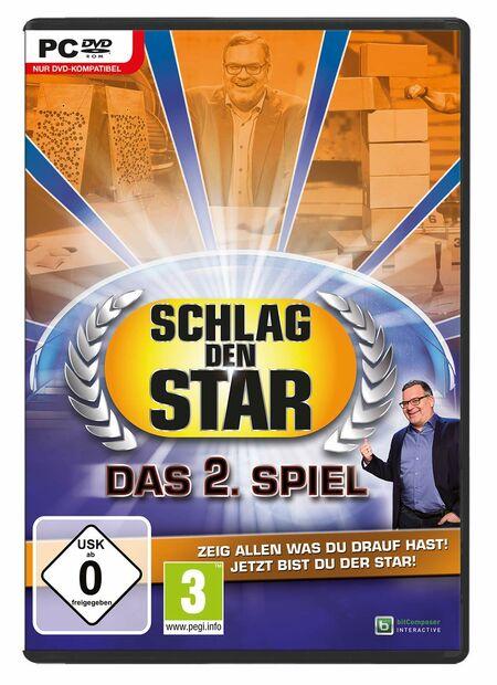 Schlag den Star - Das 2. Spiel (PC) - Der Packshot