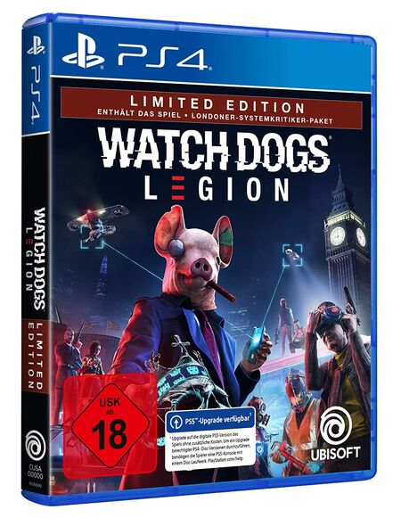 Watch Dogs Legion (PS4) - Der Packshot