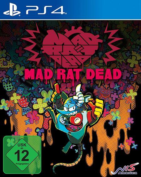 Mad Rat Dead (PS4) - Der Packshot