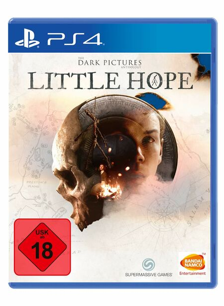 The Dark Pictures: Little Hope (PS4) - Der Packshot