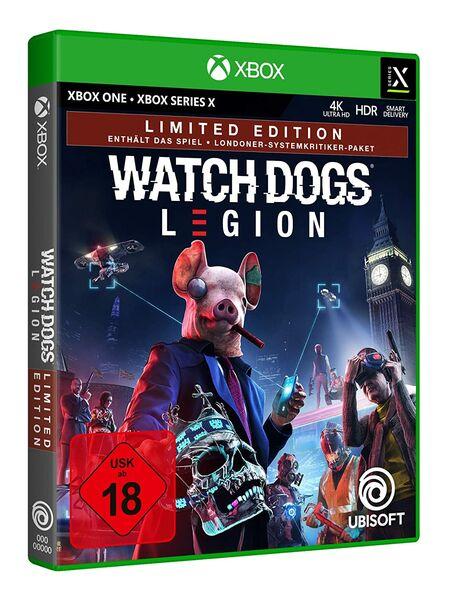 Watch Dogs Legion (Xbox One) - Der Packshot