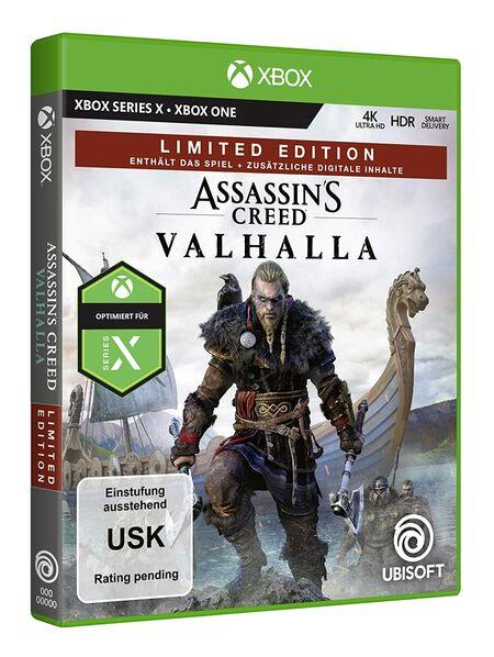 Assassin's Creed Valhalla (Xbox One) - Der Packshot