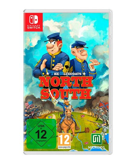 The Bluecoats - North and South (Switch) - Der Packshot