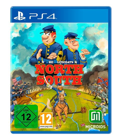 The Bluecoats - North and South (PS4) - Der Packshot