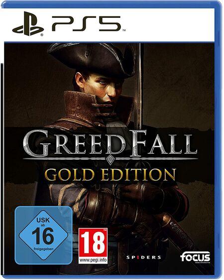 Greedfall Gold Edition (PS5) - Der Packshot