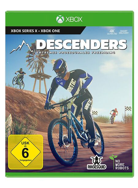 Descenders (Xbox Series X) - Der Packshot