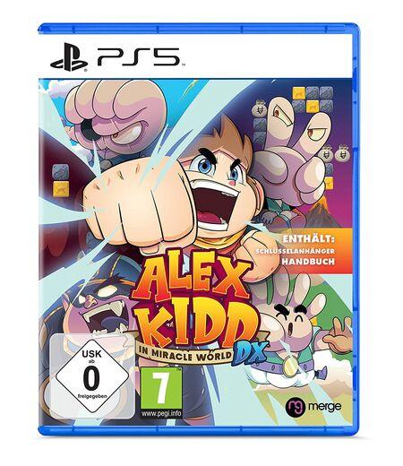 Alex Kidd in Miracle World DX (PS5) - Der Packshot