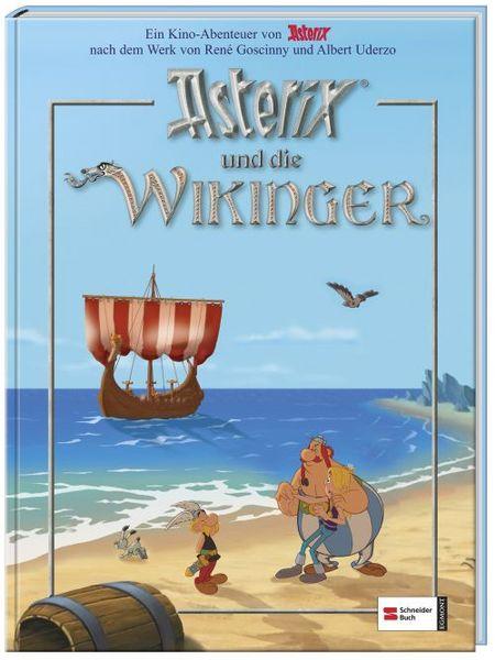 Asterix und die Wikinger - Das Kinderbuch zum Film - Das Cover