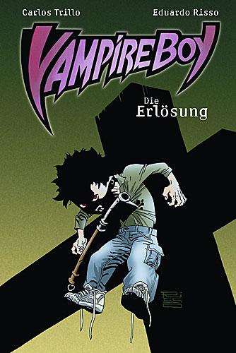 Vampire Boy 3: Die Erlösung - Das Cover