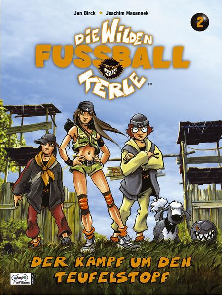 Die wilden Fußballkerle 2 – Die Schlacht um den Teufelstopf - Das Cover