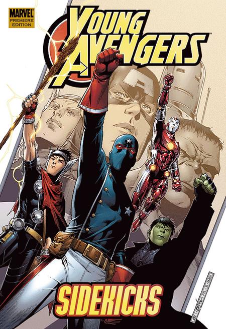 Young Avengers Sonderband 1: Sidekicks - Das Cover