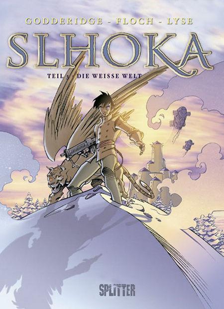 Slhoka 3: Die weiße Welt - Das Cover