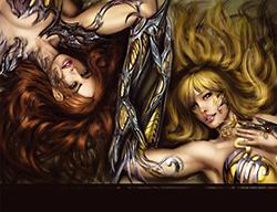 Witchblade Bearers Of The Blade 111-Variant - Das Cover
