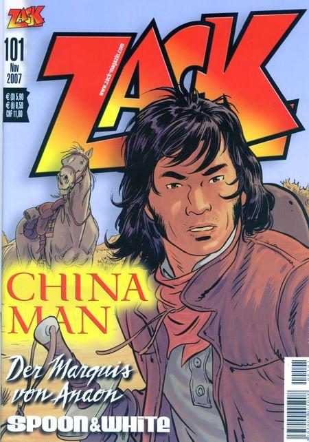 Zack 101 - Das Cover