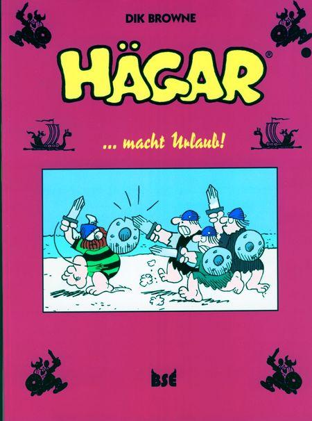 Hägar 12: ...macht Urlaub! - Das Cover