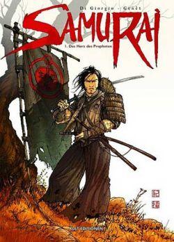 Samurai 1: Das Herz des Propheten - Das Cover