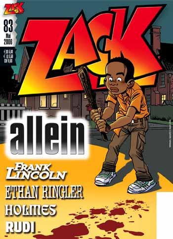 Zack 83 - Das Cover