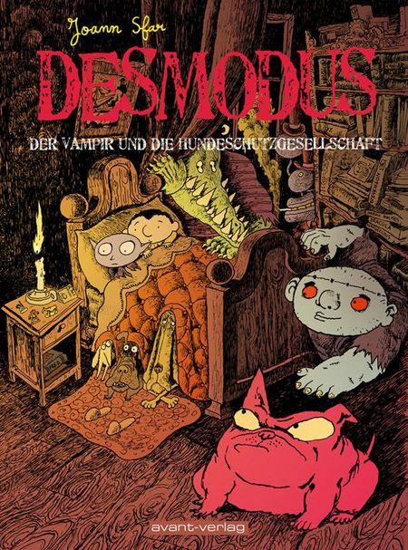 Desmodus der Vampir 3 - Das Cover