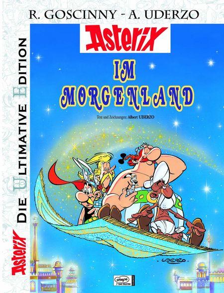 Die ultimative Asterix Edition 28: Asterix im Morgenland - Das Cover