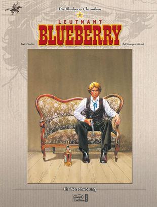Die Blueberry Chroniken 8: Die Verschwörung - Das Cover