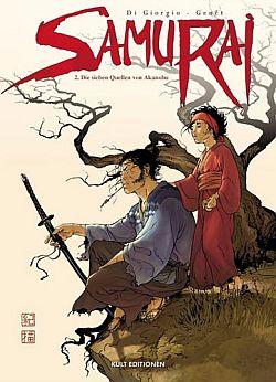 Samurai 2: Die sieben Quellen von Akanobu - Das Cover