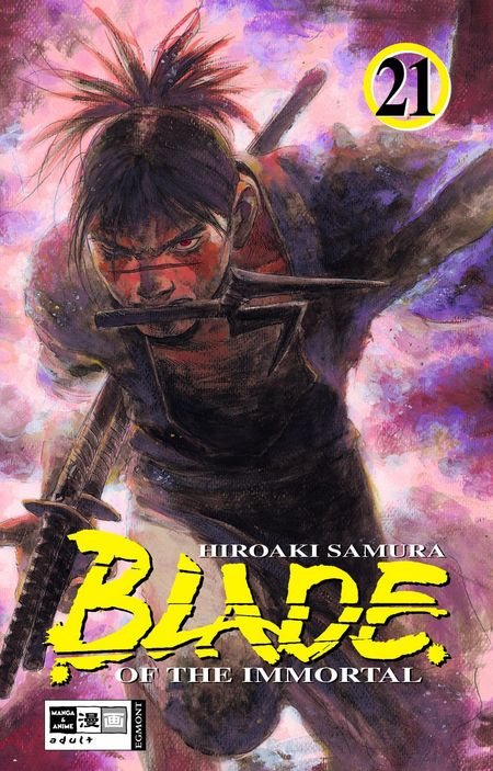Blade Of The Immortal 21 - Das Cover