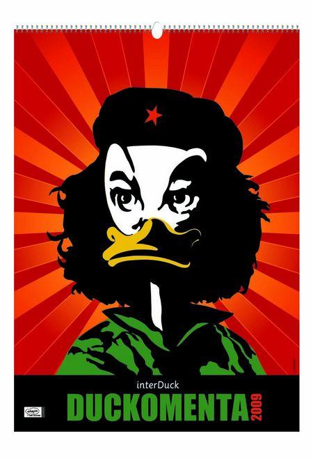 Duckomenta Kalender 2009 - Das Cover