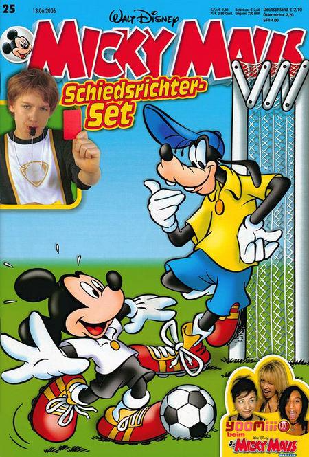 Micky Maus 25/2006 - Das Cover