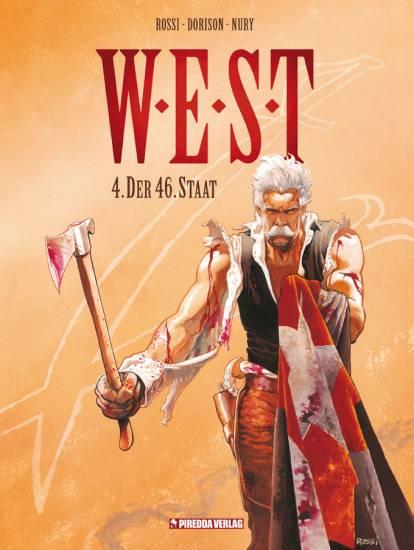 W.E.S.T. 4: Der 46. Staat - Das Cover