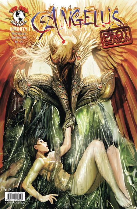 Witchblade Sonderheft 14: Angelus - Das Cover