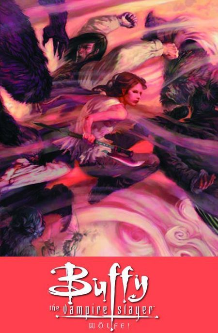 Buffy the Vampire Slayer 8. Staffel 3: Wölfe! - Das Cover