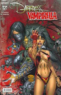 Darkness/Vampirella - Das Cover