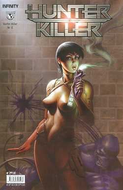 Hunter Killer 0 (Linsner Cover) - Das Cover