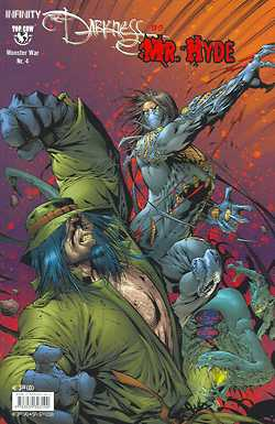 Monster War 4: Darkness vs. Mr. Hyde - Das Cover