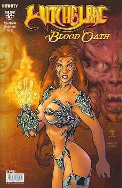 Witchblade Sonderheft 8 - Das Cover