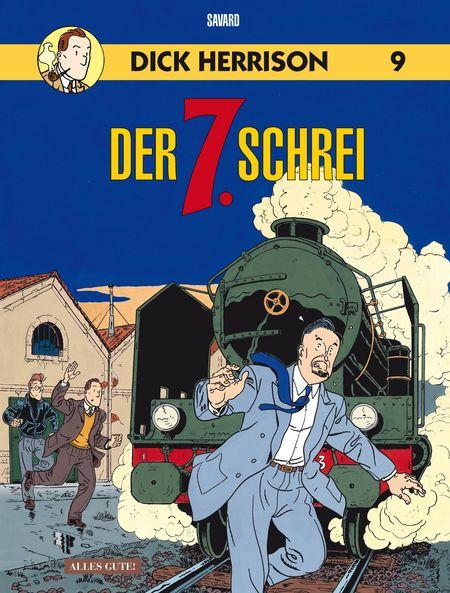 Dick Herrison 9: Der 7. Schrei - Das Cover