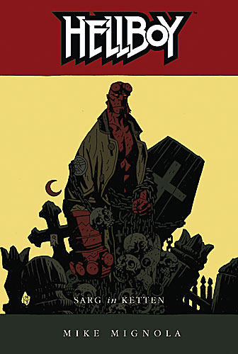 Hellboy 4: Sarg in Ketten - Das Cover