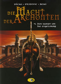 Hier klicken, um das Cover von Die Macht der Archonten 4: Kampf um die Engelsburg zu vergrößern