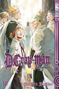 Hier klicken, um das Cover von D.Gray-man 16 zu vergrößern