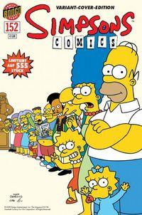 Hier klicken, um das Cover von Simpsons 152 Variant zu vergrößern