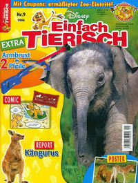 Hier klicken, um das Cover von Einfach tierisch 9/2006 zu vergrößern
