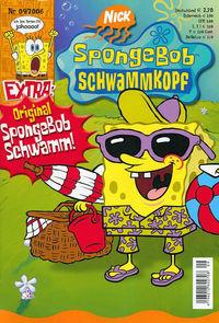 Hier klicken, um das Cover von SpongeBob - Schwammkopf 9/2006 zu vergrößern