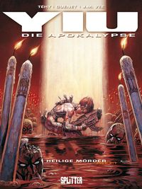 Hier klicken, um das Cover von Yiu - Die Apokalypse 3: Heilige Moe~rder zu vergrößern