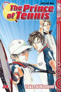 Hier klicken, um das Cover von The Prince Of Tennis 34 zu vergrößern