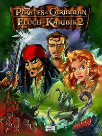Hier klicken, um das Cover von Fluch der Karibik 2: Der Comic zum Film zu vergrößern