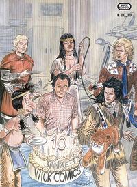 Hier klicken, um das Cover von 10 Jahre Wick Comics zu vergrößern