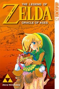 Hier klicken, um das Cover von The Legend of Zelda - Oracle of Ages zu vergrößern