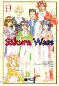 Hier klicken, um das Cover von Sakura Wars 9 zu vergrößern